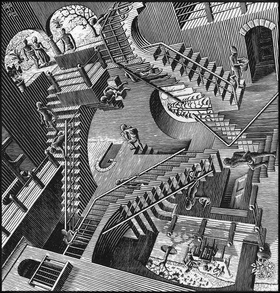 MC Escher                                                                                                                                                      More