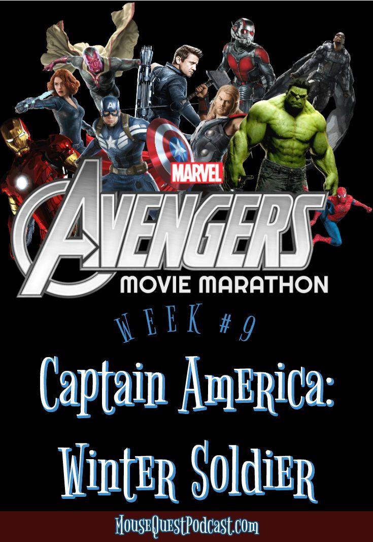Marvel / Captain America / Winter Soldier / Movie Marathon