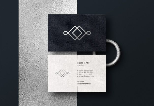 Modern Luxury Business Card Mockup Business Card Mock Up Luxury Business Cards Restaurant Business Cards