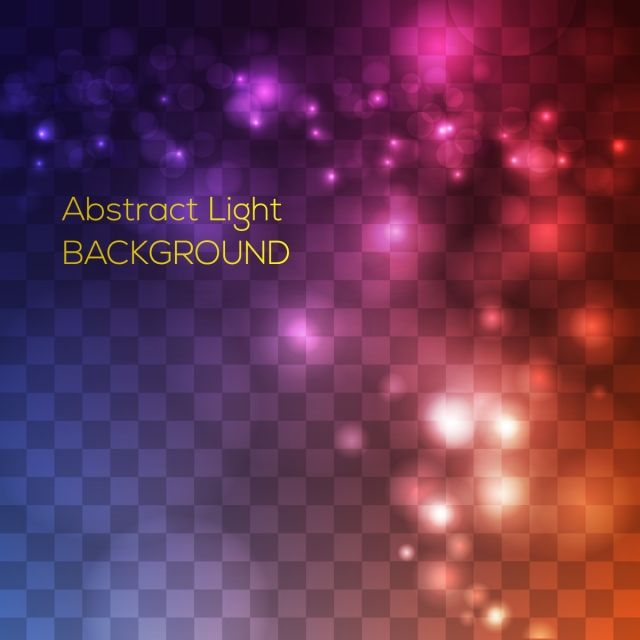 Abstract Light Effects Background Vector And Png Bokeh Overlay Overlays Transparent Overlays