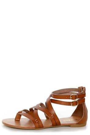 http://www.lulus.com/products/bamboo-laguna-25-chestnut-tan-strappy-gladiator-sandals/77370.html
