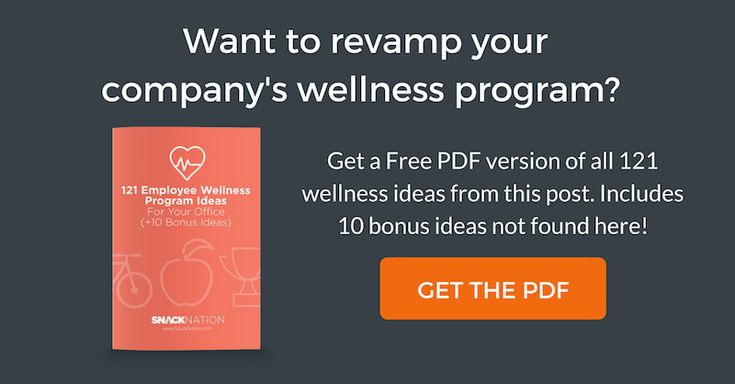 121 Proven Employee Wellness Program Ideas For Your Office