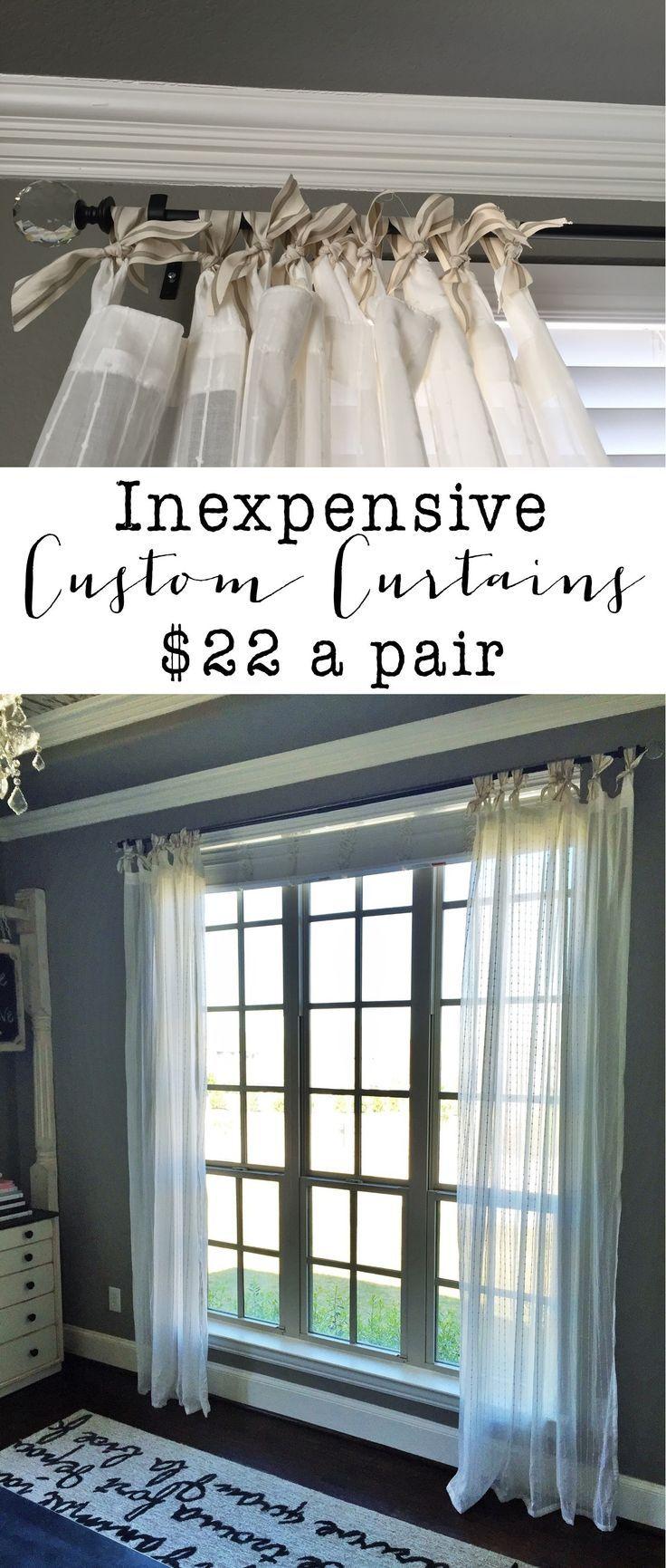 Best 20+ Custom curtains ideas on Pinterest | Ready made curtains ...