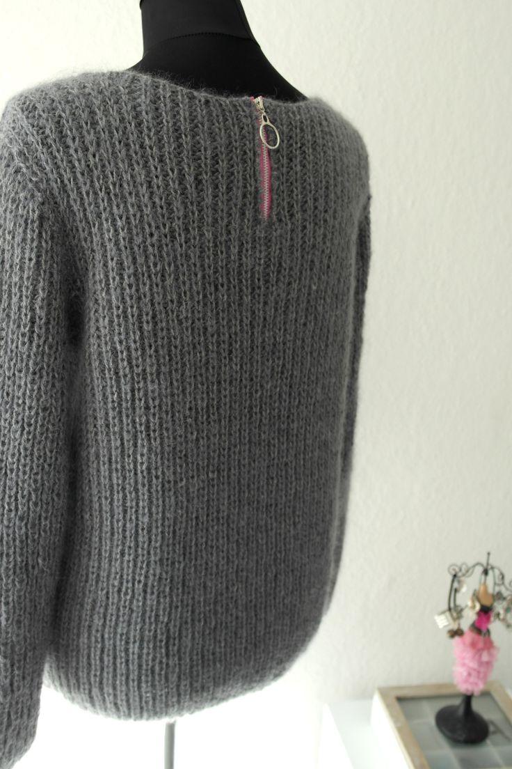 Måske har jeg ikke helt forstået, at sommeren er kommet!?! Jeg er lige blevet færdig med en sweater, og det er ikke af den tynde, lette, sommeragtige type. Anyway, sweateren er færdig og jeg er god…