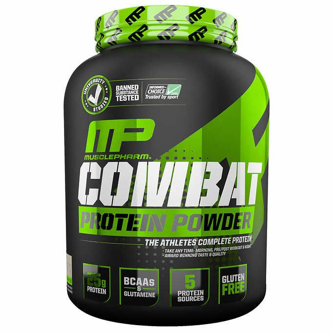 Muscle Pharm Combat Cookies & Cream Protein Powder, 5-pounds