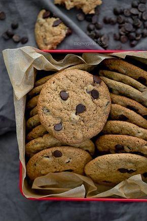 Moje Wypieki   Gryczane chocolate chip cookies