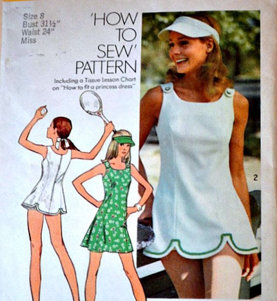 Vintage 1970's Simplicity 5572 Sewing by MemoryMadeMercantile