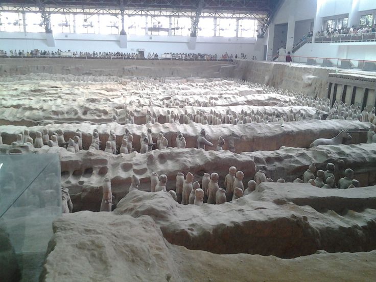 Qin shi huang Terracotta warriors museums
