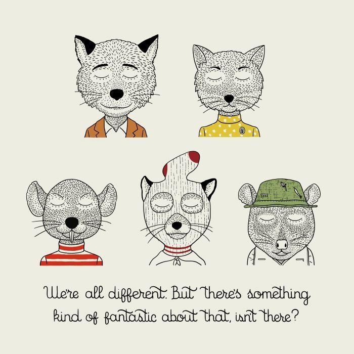 Fantastic Mr. Fox (2009), director Wes Anderson