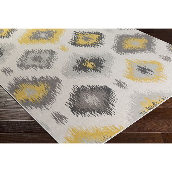 Shop Joss & Main for your Vanessa Rug in Beige & Gold. A beige and gold ikat motif make this eye-catching rug a sophisticated addition to any ensemble. Add it to the master suite for a touch of style or use it to define space in the living room.