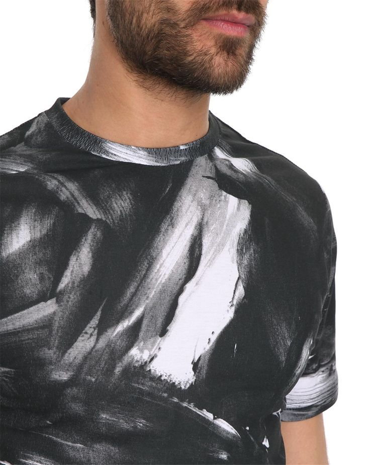 Tshirt noir imprimé Big Brush Jeep, T-shirts Col Rond BILLTORNADE pour homme, LIVRAISON et Retour 30J GRATUIT - Menlook.com : + de 250 marques à découvrir