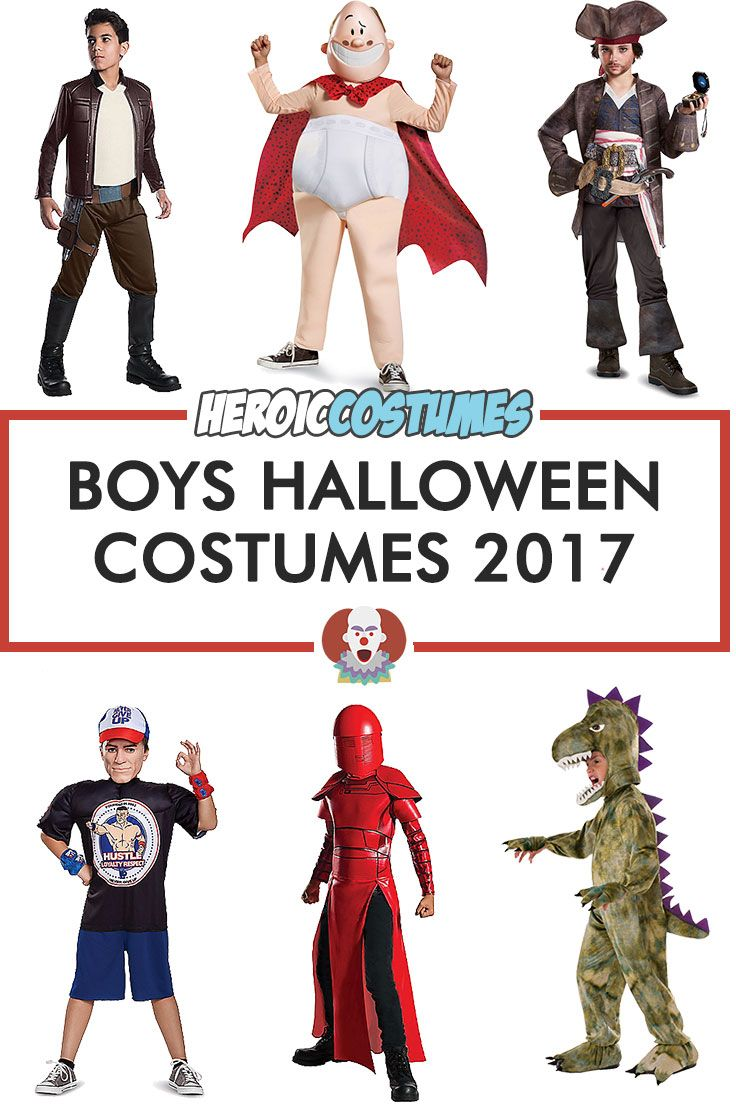 Boys Halloween Costume Ideas 2017 is here! Find out Boys Costumes for Halloween 2017 including Captain Underpants costume, Dinosaur costume, Poe Dameron costume and many more.