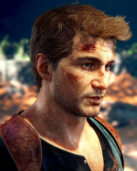 """""""Cliff side... Grazed my face"""" • • • Credit: yocalio (tumblr) #uncharted4 #athiefsend #nathandrake"""