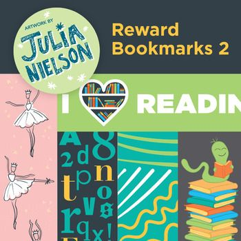 This set of reward bookmarks include 5 fun bookmarks for students of any age. All you have to do is print the A4 high quality PDF file onto card or print onto regular paper, trim and then laminate. Give the bookmarks to your students to reward their reading.