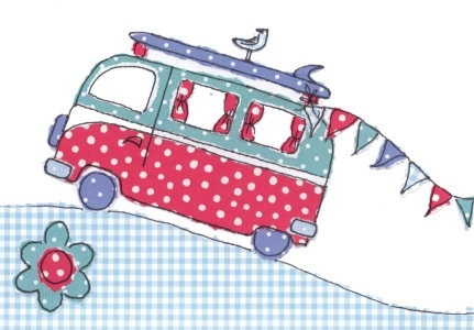 Camper Van patchwork idea
