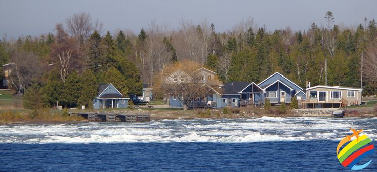 Still signs of Winter surrounding the Lake!