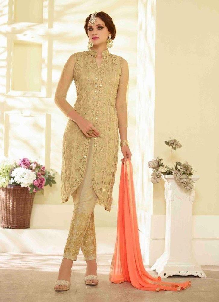 Ethnic Designer Pakistani Bollywood Partywear Salwar Suit Anarkali Indian 1761…