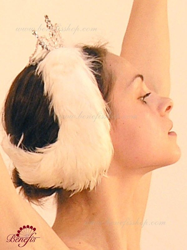 Headpiece for white swan (Odette) - S 0017B  USD 220 - for adults