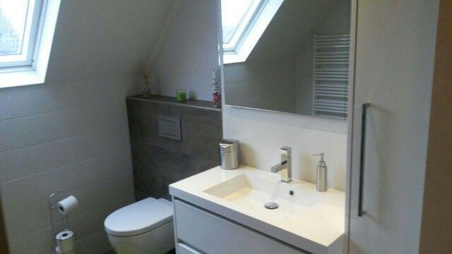 Badkamer verkocht en geplaatst door Smit Keukens & Kasten uit Harderwijk