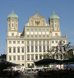 The Town Hall of Augsburg (Augsburger Rathaus)