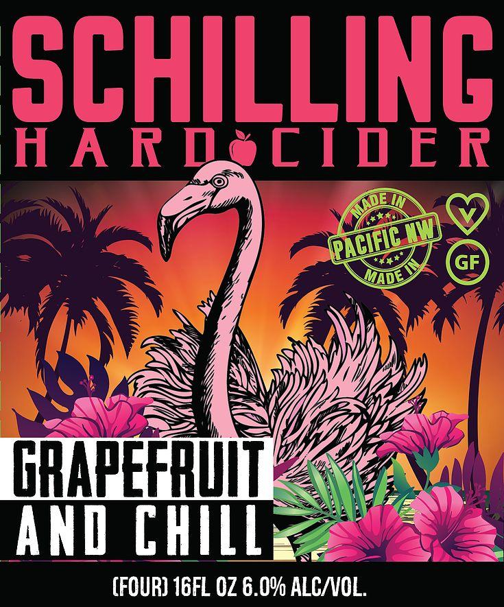 Schilling Hard Cider Grapefruit and Chill Hard cider