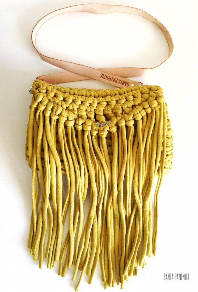 1000 images about trapillo on pinterest for Bolso crochet trapillo