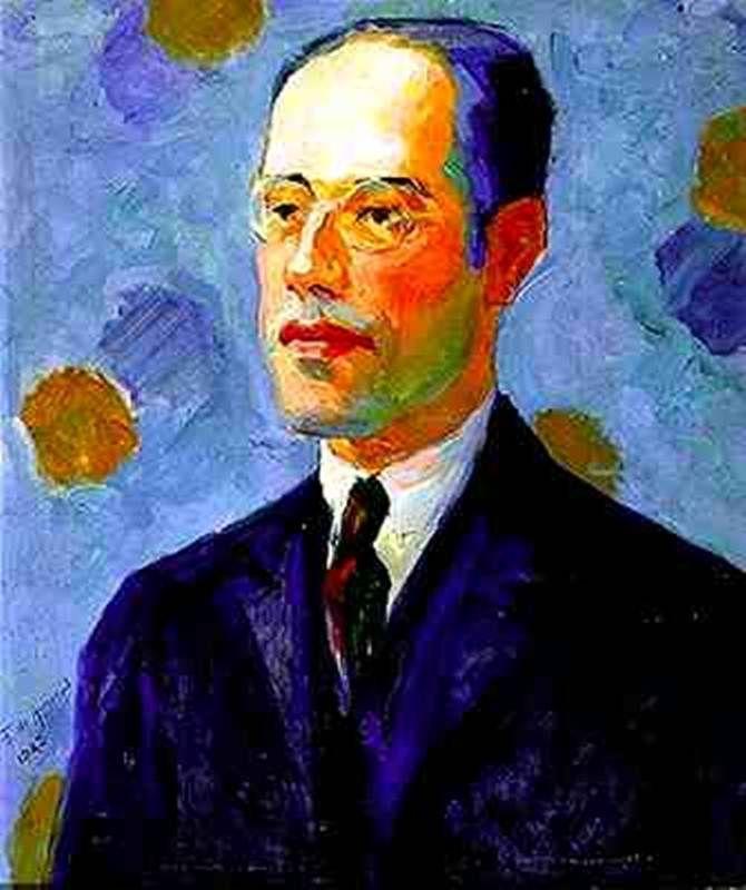 Mario de Andrade - Tarsila do Amaral - 1922.