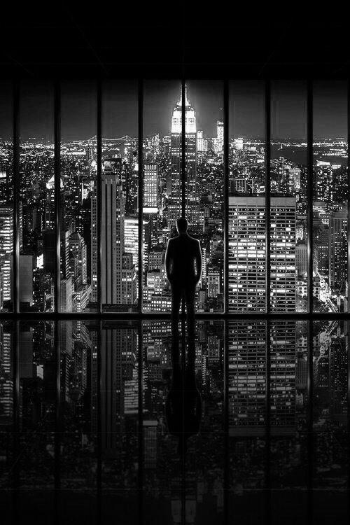 Gotham, NYC, skyline, Manhattan