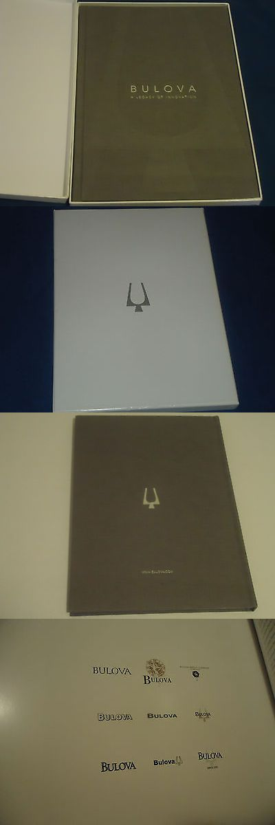 Manuals and Guides 93720: Bulova A Legacy Of Innovation Book With Original Bulova Box -> BUY IT NOW ONLY: $35 on eBay!