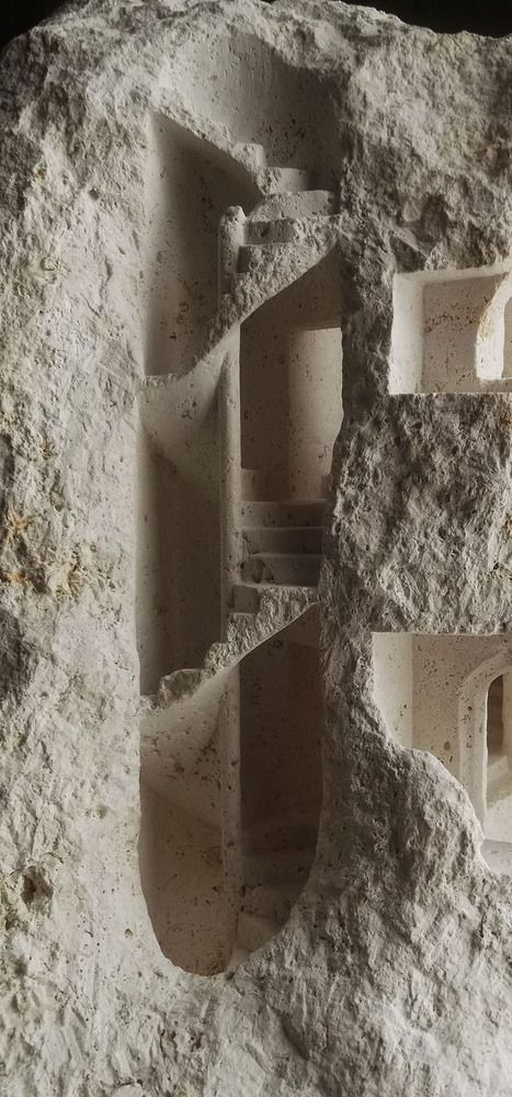 Gallery of Stone Sculptures Reveal Monumental Architecture at a Micro Scale - 13