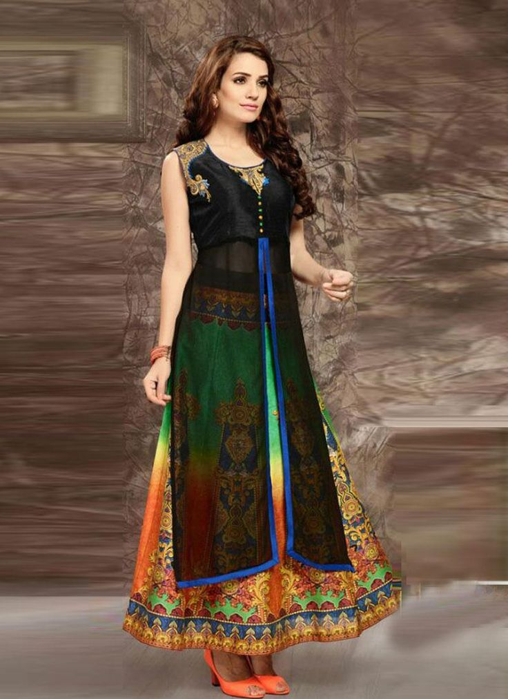 Latest Fashionable Kurtis Online for Women Clothing Online Shopping  Contact us: +91-9824678889 Email id: sales@manjaree.in