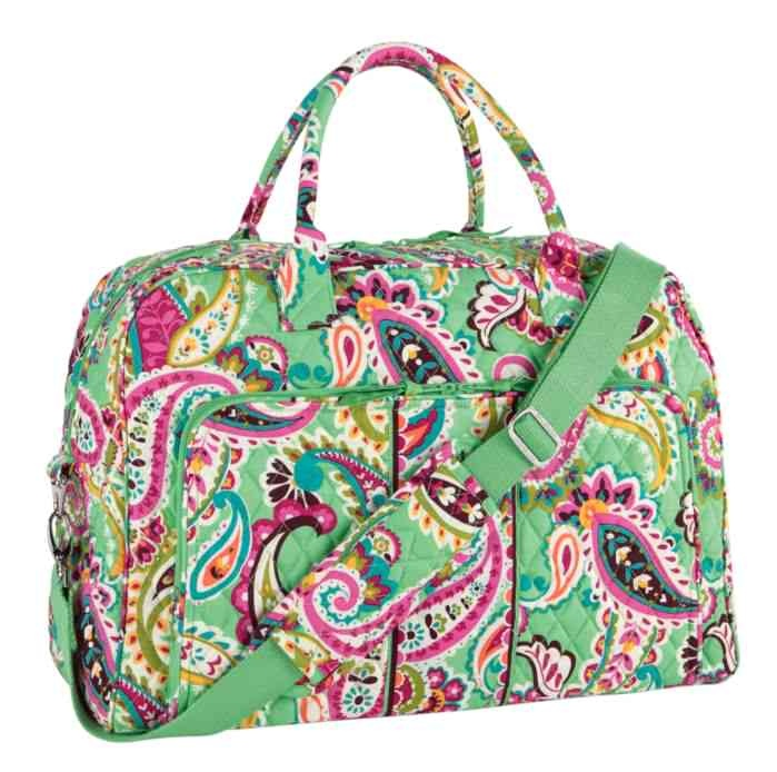 GIVEAWAY! Win this adorable Weekender in Tutti Frutti by commenting with what your favorite item is in the Vera Bradley Baby Collection! Preview here: http://www.verabradley.com/category/Category/Mom-and-Baby/643/pc/638.uts #vbpinparty
