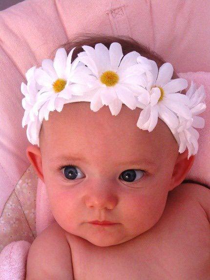 making little girl headbands and barrettes | Baby Headbands - Homemade Baby Headbands