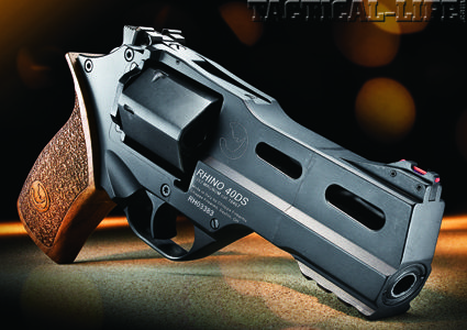 CHECK OUT what's inside the Combat Handguns Sep issue...CHIAPPA RHINO 40DS: Double threat .357 Mag/9mm firepower in a revolutionary revolver!