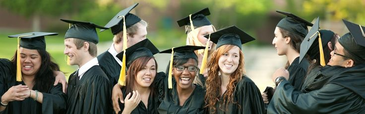 Image of students graduating college.