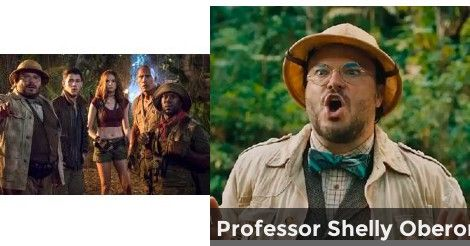 Professor Shelly Oberon | Which Jumanji: Welcome to the Jungle Video Game Avatar would you select?