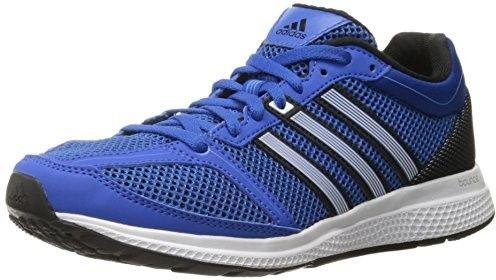adidas Men's Mana RC Bounce M Running Shoe, Blue/White/Black, 10.5 M US