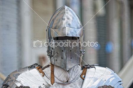 Древние средневековые доспехи — стоковое изображение #47524593