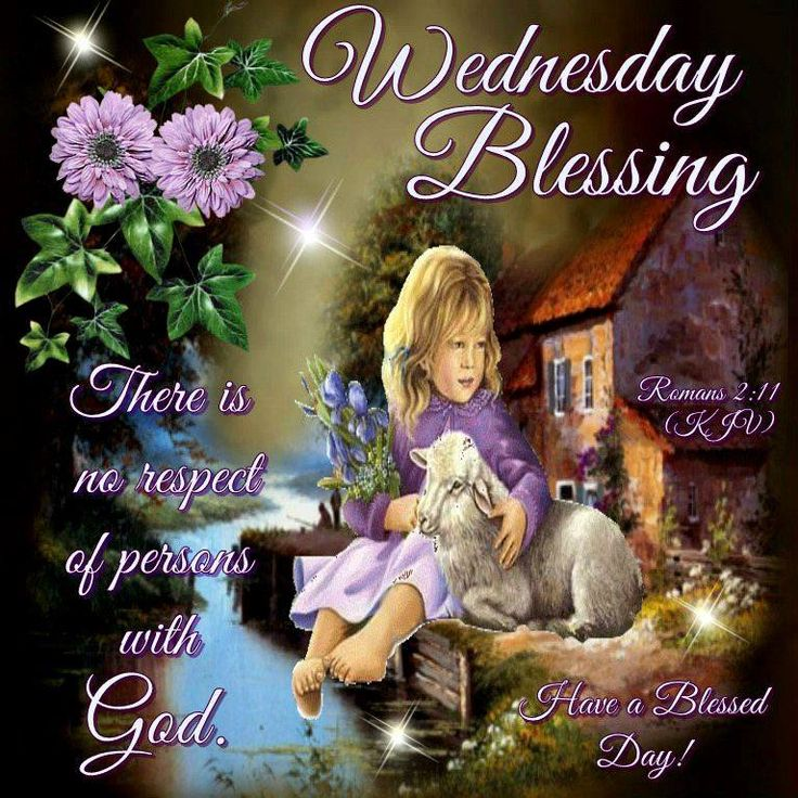 Wednesday Blessing, Romans 2:11-Have a Blessed Day!!