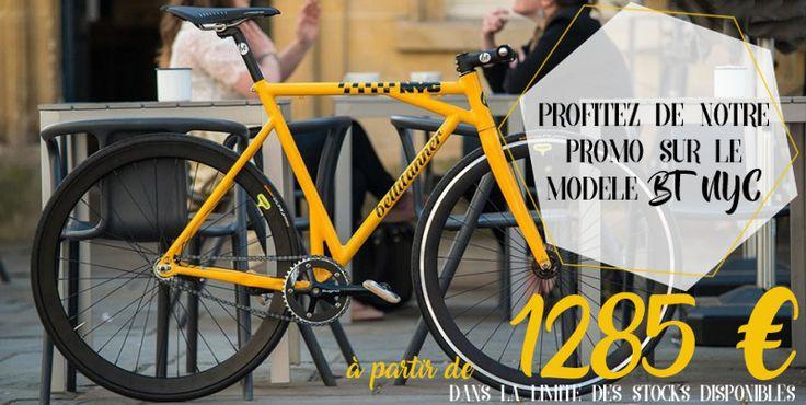 Profitez vite de nos réductions sur : http://www.fixiedesign.com/promos-soldes-pas-cher-velo-urbain-pas-cher/velo-urbain-bt-nyc-cab-jaune-detail.html