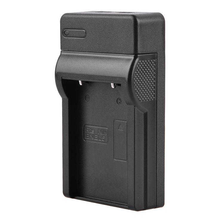 SCLS Battery USB Charger For Nikon EN-EL5 Coolpix P6000 S10 P100 P510 P500 P80 P90 #Affiliate