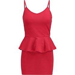 New Look Sukienka z dżerseju red