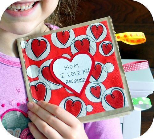 Rosy ~ Posy: Valentine Paper Bag Books