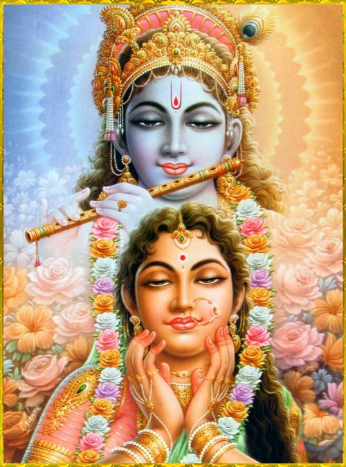 ✨ RADHA KRISHNA ✨ Artist: C.Vishnu Hare Krishna Hare Krishna Krishna Krishna…