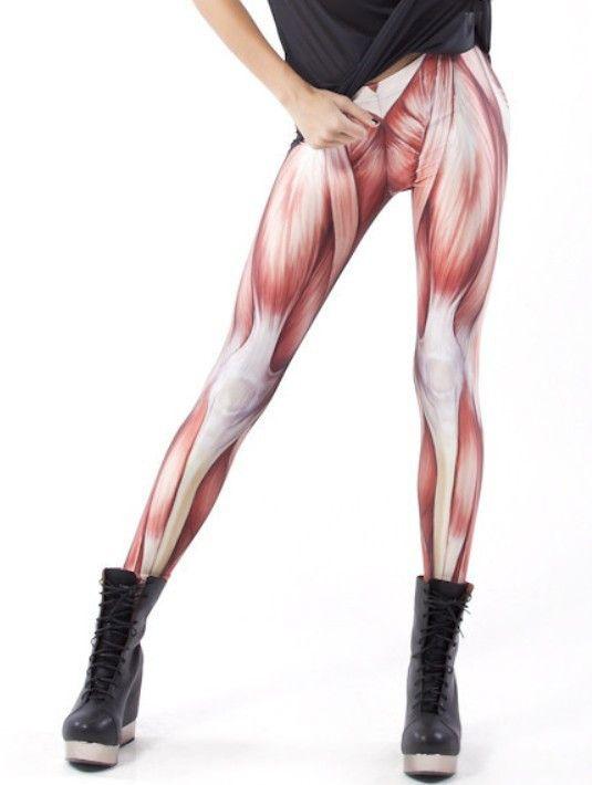 Pants Leggings Women Muscle Universe