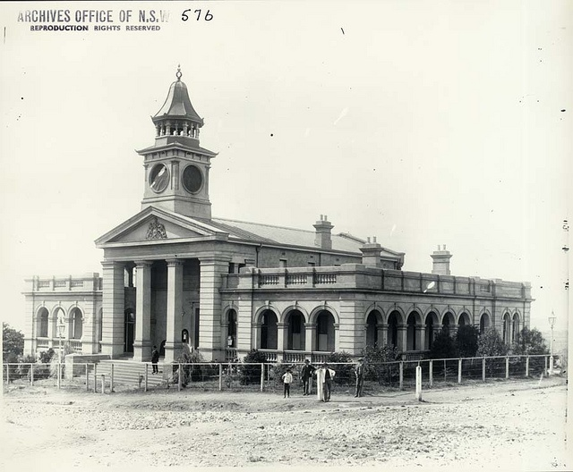 Wollongong Court House by State Records NSW, via Flickr