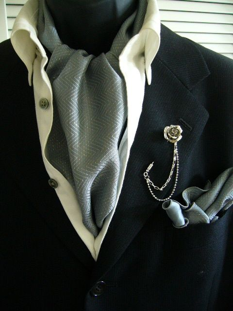 This style is typically accompanied by a wing-collared dress shirt, ascot, and striped trousers, but can be made less formal by pairing with a tie. Description from pinterest.com. I searched for this on bing.com/images