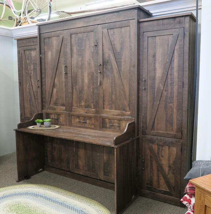 Best 25 Rustic Murphy Beds Ideas On Pinterest Diy