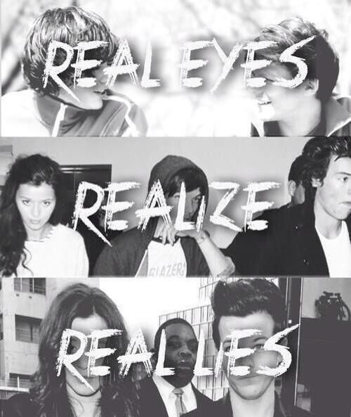 Real eye realize real lies -so true #bravery # ...