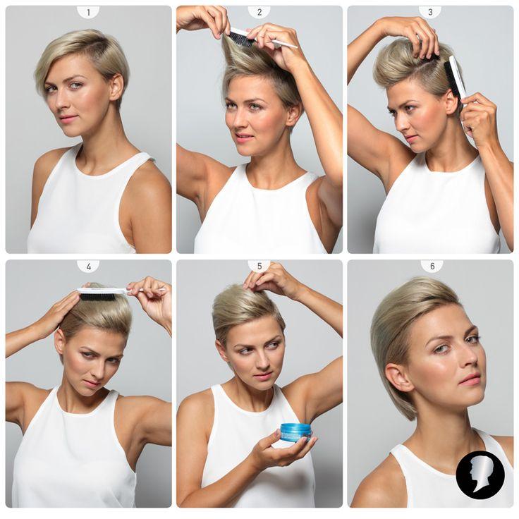 Koktejl párty? I s krátkými vlasy můžete zazářit a oslnit. Třeba s tímto účesem, který vám představujeme jako soutěžní tutorial č. 3.